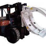 ഫോർക്ക്ലിഫ്റ്റ് അറ്റാച്ചുമെന്റുകൾ 360 റൊട്ടേഷൻ സിംഗിൾ ആം പേപ്പർ റോൾ ക്ലാമ്പുകൾ